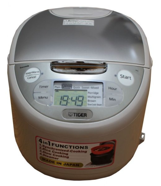 Photo1: Tiger Rice Cooker (220V) 1.0L(5.5-cup) (1)
