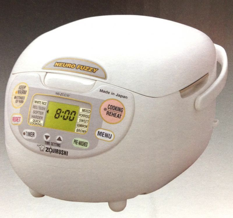 ZOJIRUSHI Rice Cooker and Warmer NS ZCC10 1 0L 5 5gou AC120V Brand